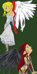 Ange et Demon by Tenderis