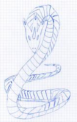 Dragon snake 002 by Tenderis