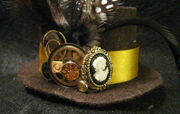 48d91cb1 Mini Top Hat Steampunk Cameo by demimondeart on DeviantArt
