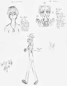 character designs for smiley asylum