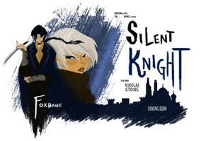 Foxbane Retro Poster by Skyserpent