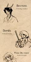 Dungeons and Dragons NPCs etc