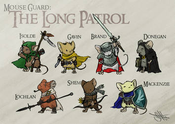 Mouse Guard party by Skyserpent