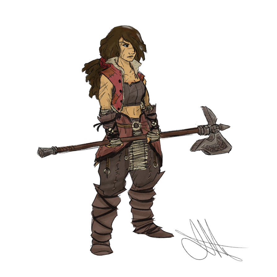 Human Barbarian by Skyserpent on DeviantArt