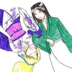 NejiIno by shinoino