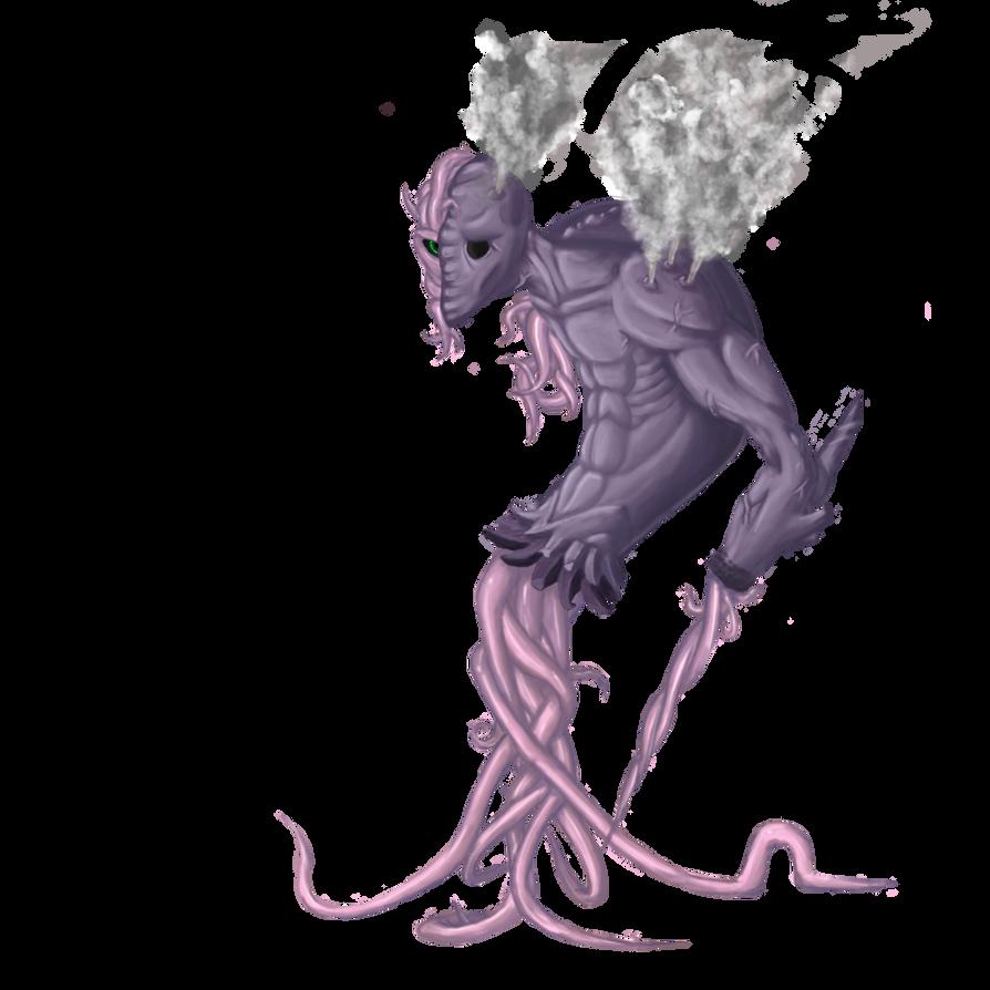 Tentacle Monster by Acreium