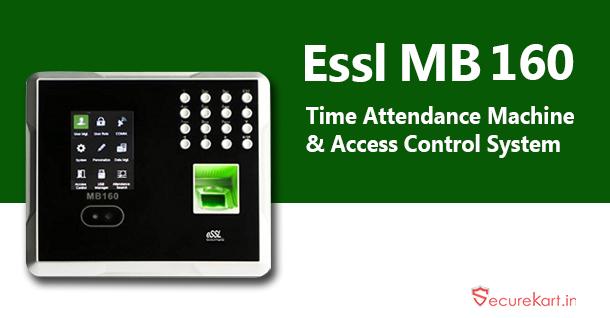 Essl MB160 fingerprint attendance system by securekartt on DeviantArt