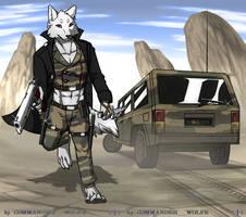 Hide in sand by COMMANDER--WOLFE