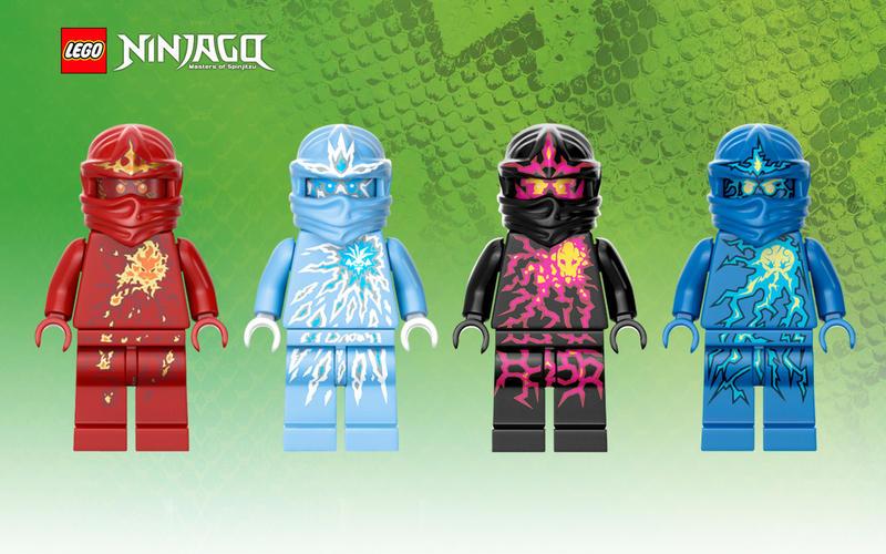 LEGO Ninjago NRG Wallpaper by skybard on DeviantArt