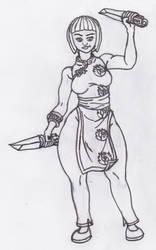 Ninjago Nya Drawing