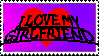 I love my girlfriend stamp by pacifierboy