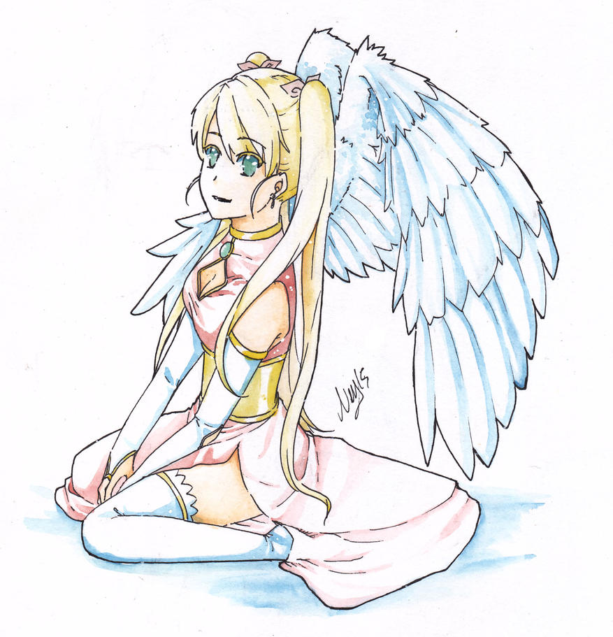 An Angel by NeyzaFluodrence