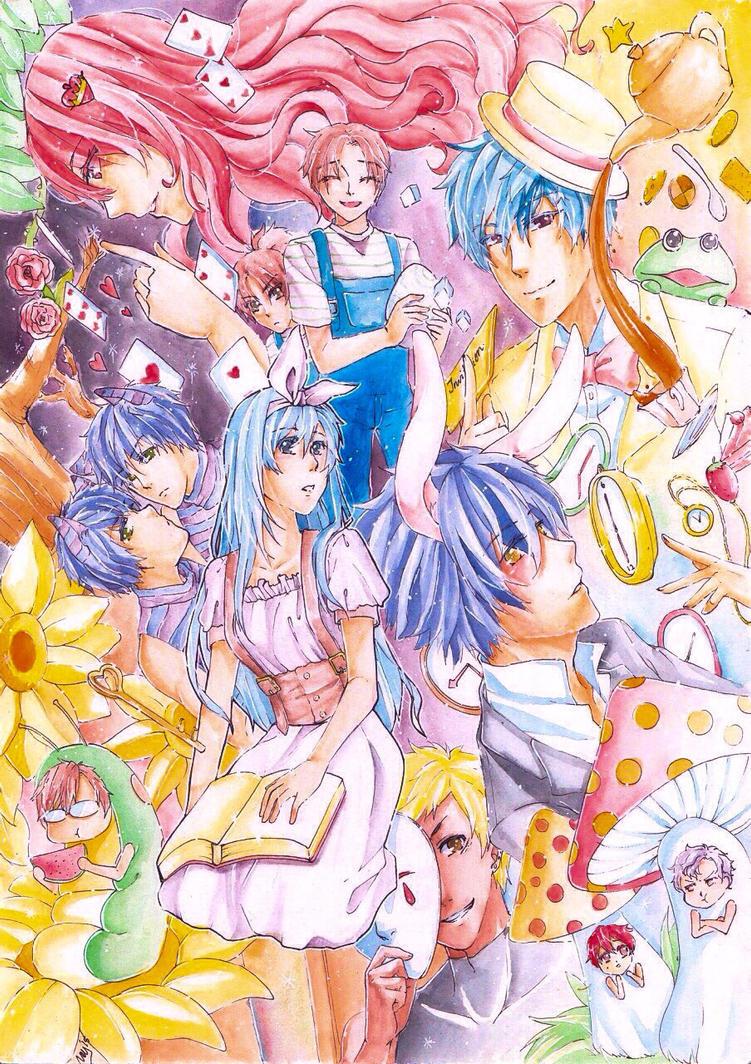 Alice in Wonderzta by NeyzaFluodrence