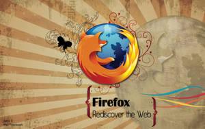 Firefox Wallpaper by raoros