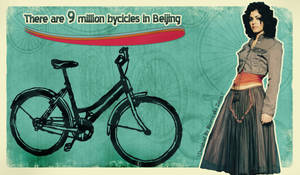 9 Million Bycicles in beijing by raoros