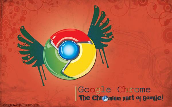 Google Chrome Wallpaper by raoros