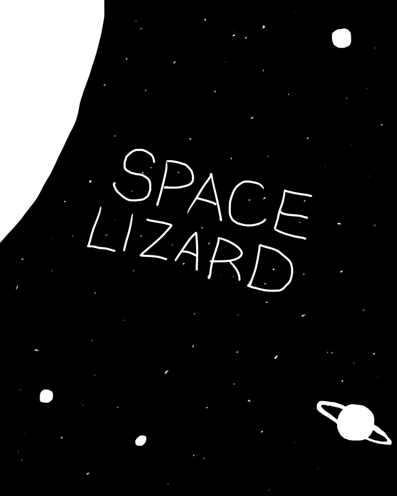 Space Lizard Title Page by Megalemon on DeviantArt