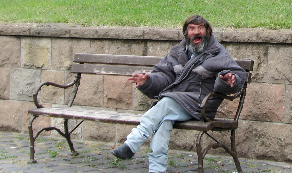 The_Tramp_On_The_Bench_by_deppink.jpg