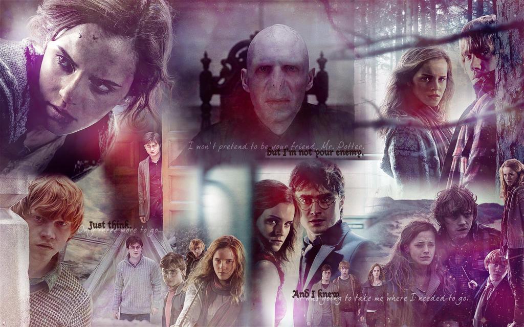 Harry Potter Wallpaper by deppink