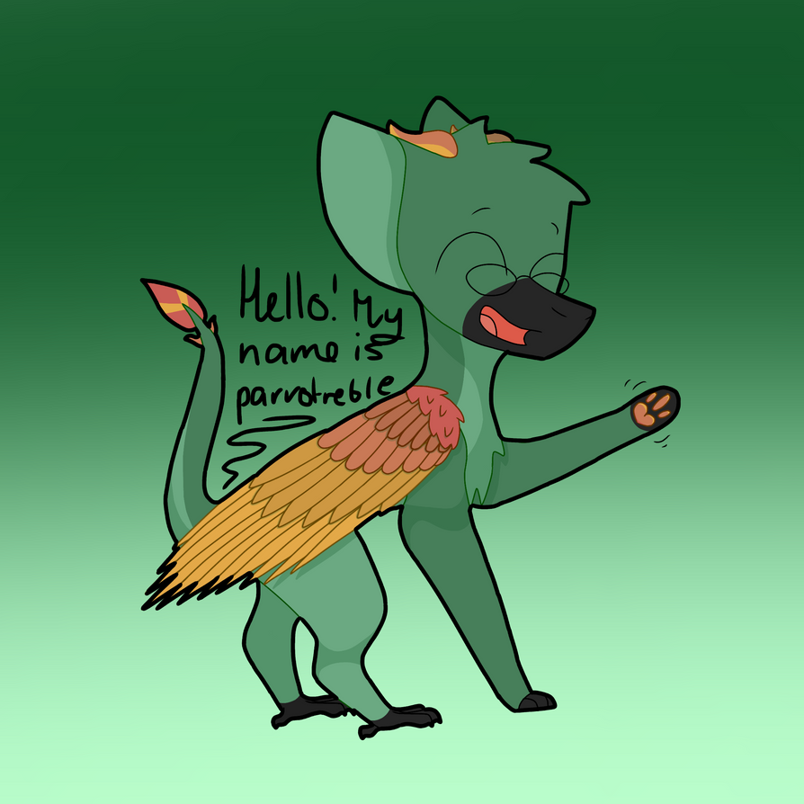 Hello! by parrotreble