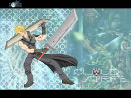 FFVIIAC:Cloud Strife Epic Hero by maXVolnutt