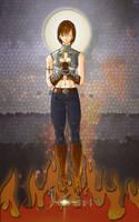 Joan, the Saint by maXVolnutt
