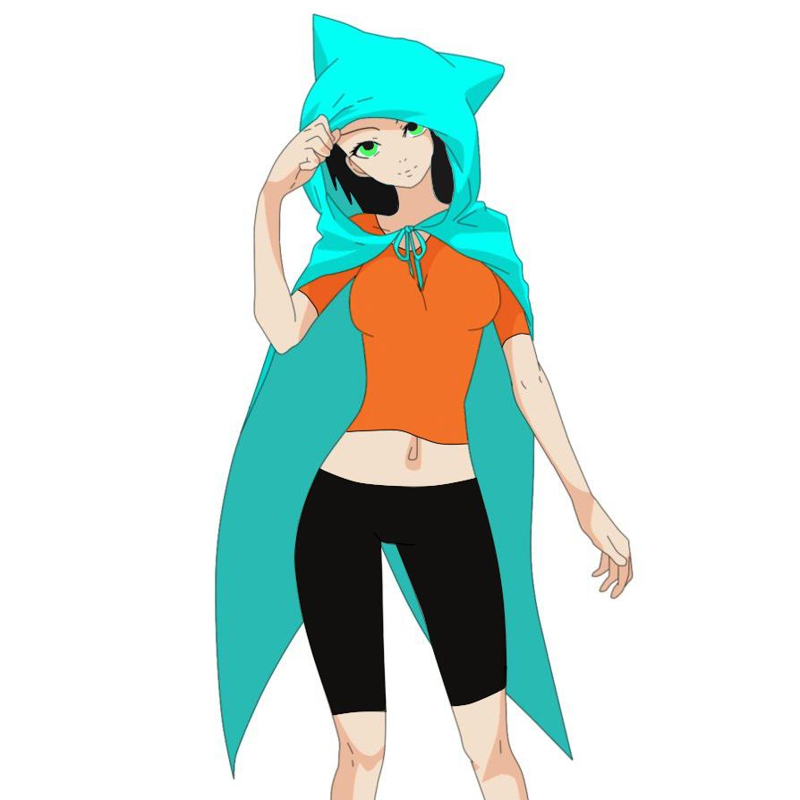 Anime Girl Cat Hood By LadyUmbrella9 On DeviantArt