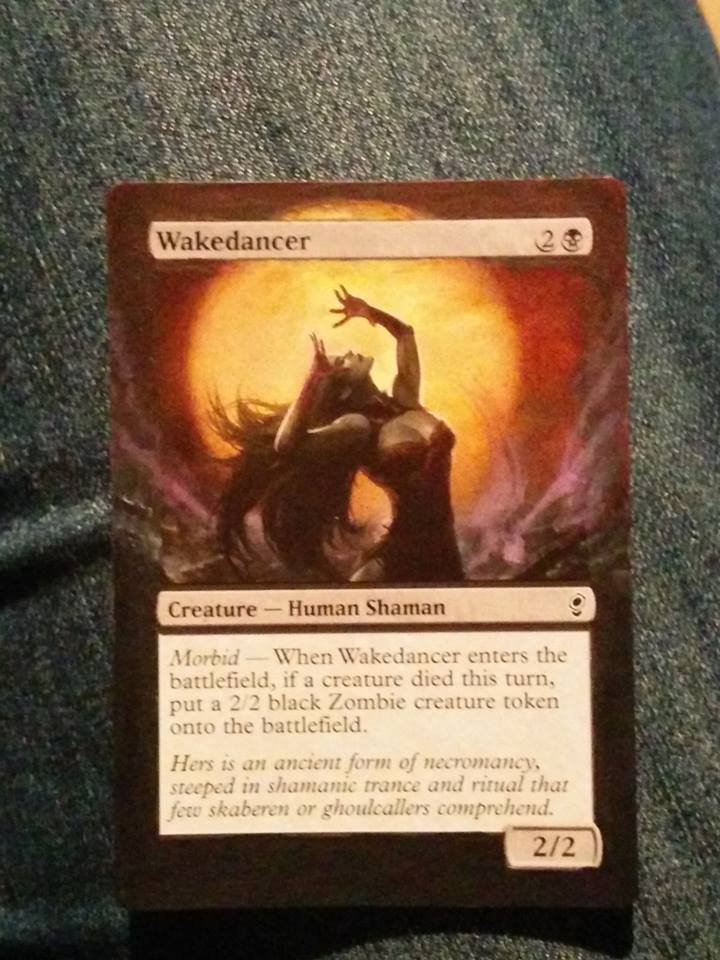 Wakedancer MTG card Alter by Rogue-chan