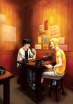Persona 5 - Salvation fanzine: Ramen for Two