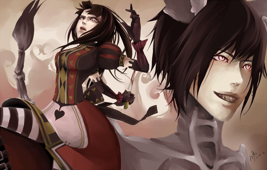 SasuHina: Madness Returns by kurochii