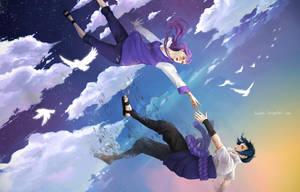 SasuHina: Falling by kurochii