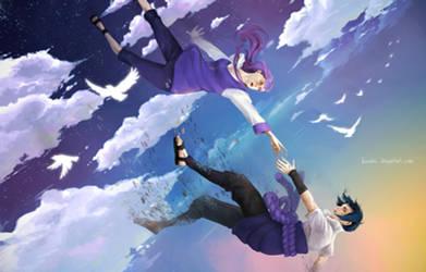 SasuHina: Falling