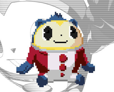 persona 4 pixel art