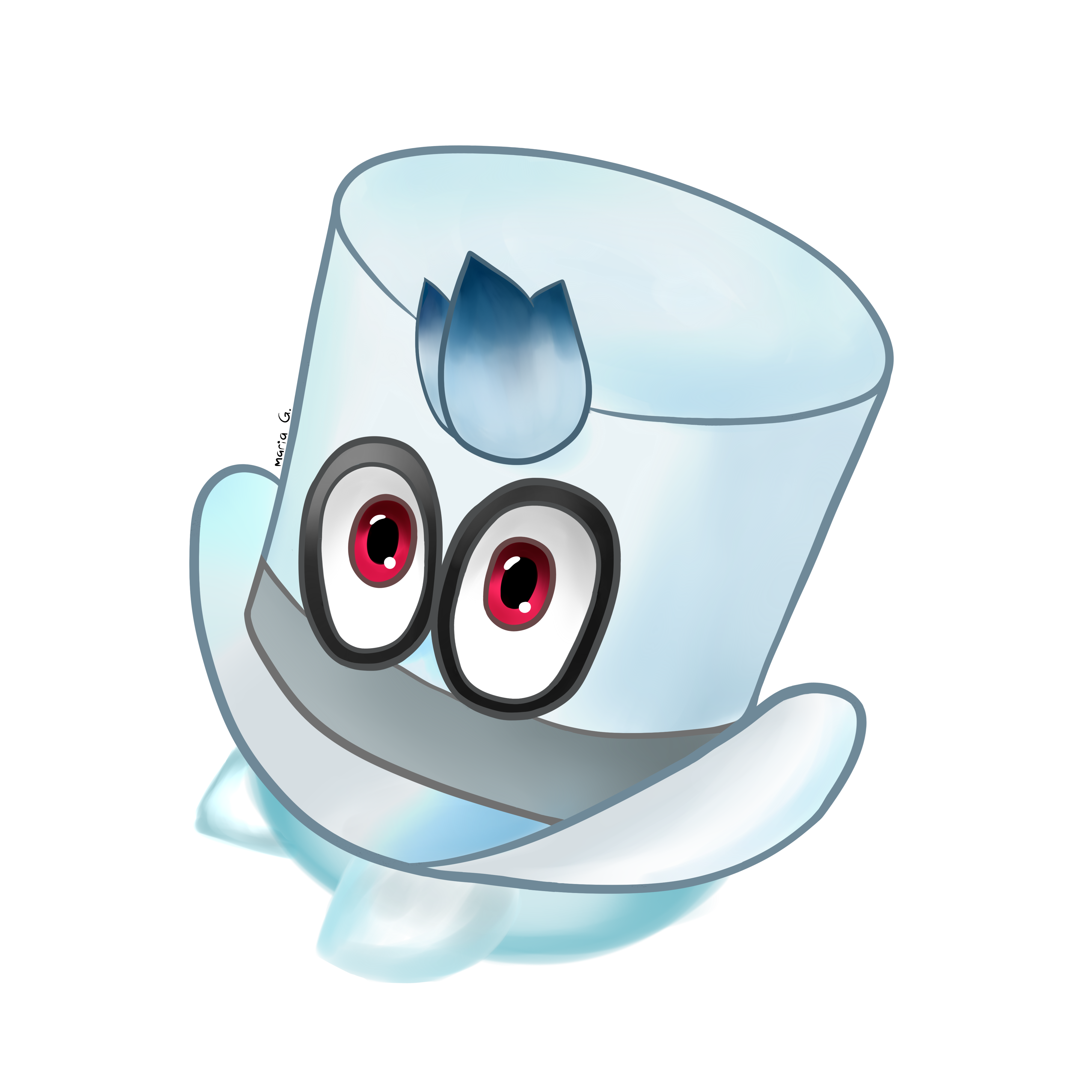 Cappy Super Mario Odyssey By Mariag2002 On Deviantart