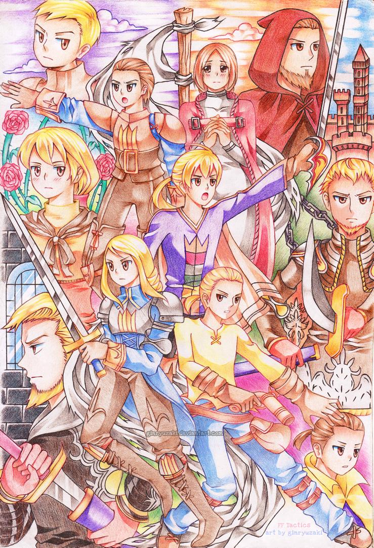 Final Fantasy Tactics: Zodiac Brave Story by Ginryuzaki