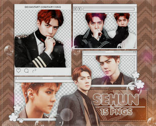[PNG PACK #885] Sehun - EXO (DMUMT) by fairyixing