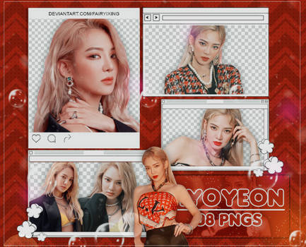 [PNG PACK #900] Hyoyeon - SNSD (PUNK ME RIGHT NOW)