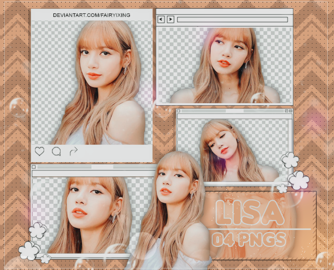 PNG PACK #915] Lisa - BLACKPINK (181119) by fairyixing on