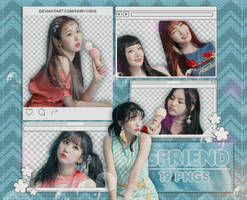 [PNG PACK #937] GFriend - (Sunny Summer Behind 1) by fairyixing