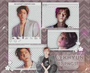 [PNG PACK] BAEKHYUN - EXO (LOVE SHOT) by fairyixing