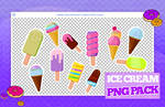 + pack pngs 30 | ice cream
