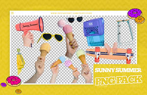 + pack pngs 35 | sunny summer - gfriend by fairyixing