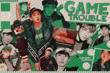game trouble | chanbaek by fairyixing