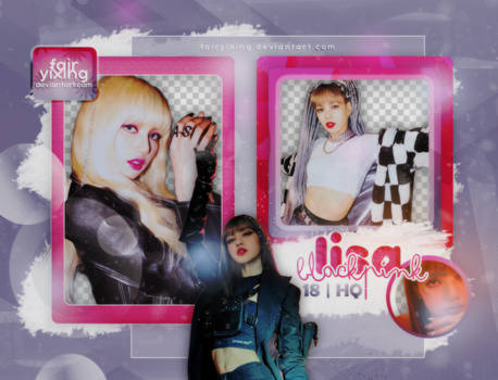 [PNG PACK] LISA - BLACKPINK (KILL THIS LOVE) by fairyixing
