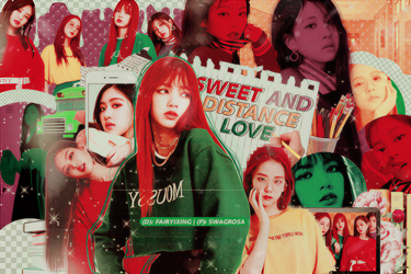 sweet and distance love | blackpink by fairyixing