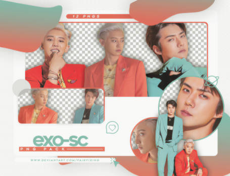 [PNG PACK] EXO-SC - (WHAT A LIFE: SCANS)