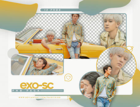 [PNG PACK] EXO-SC - (WHAT A LIFE: SCANS X TEASERS)