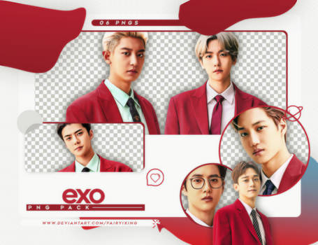 [PNG PACK] EXO - (EXPLORATION OFFICIAL GOODS 1)