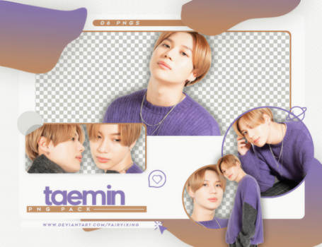 [PNG PACK] TAEMIN - SHINEE (WITH MAGAZINE 2018)