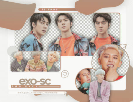 png pack  exo sc    what a life  kihno album  by fairyixing ddknqo1